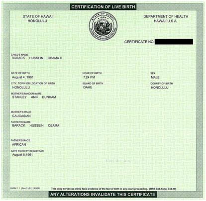 Tbr is this proof obamas birth certificate is fake yelopaper Image collections